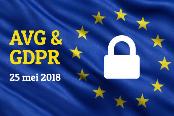 AVG GDPR privacywet Hosting website